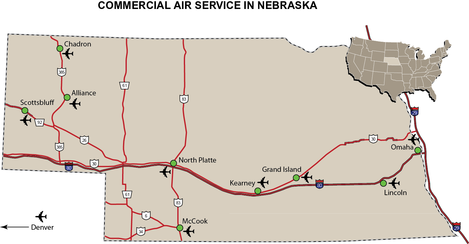 Map Room Nebraska Economic Development Services Nppd